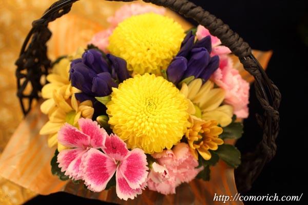 日比谷花壇のお月見ギフト 「因幡の白うさぎ」とアレンジメントのセット