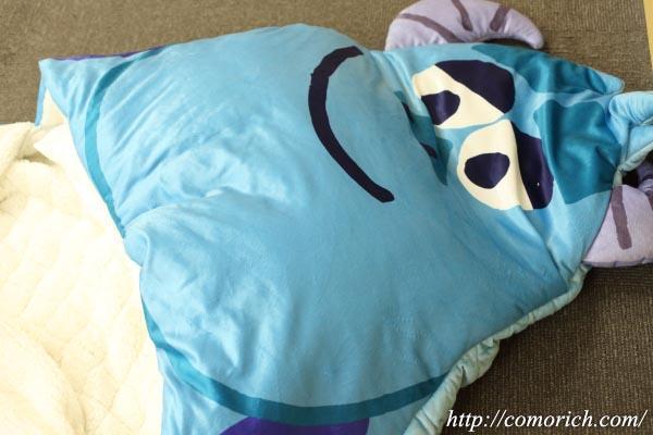 【ベルメゾン】モンスターズ・インクのサリーのなりきり寝袋