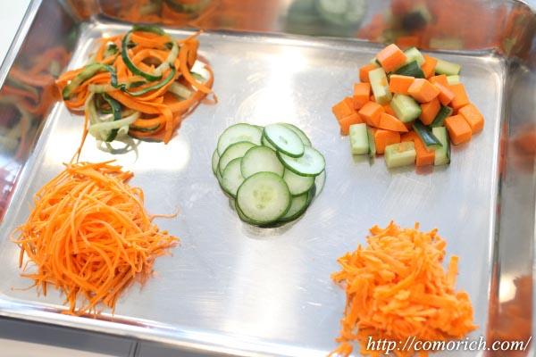 野菜の下ごしらえ