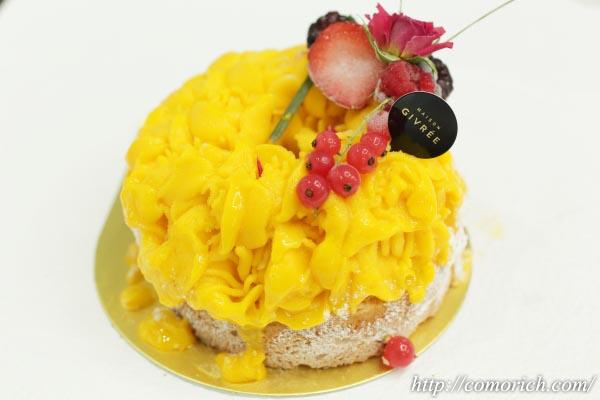 大丸松坂屋 メゾンジブレー アイスケーキ フラワーマンゴー