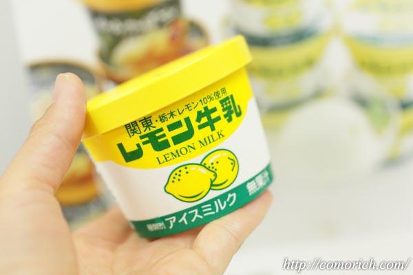 大丸松坂屋 フタバ食品 レモン牛乳アイス