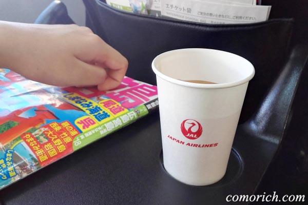 機内サービスの飲み物は、ほぼ必ずコンソメスープを選びます。