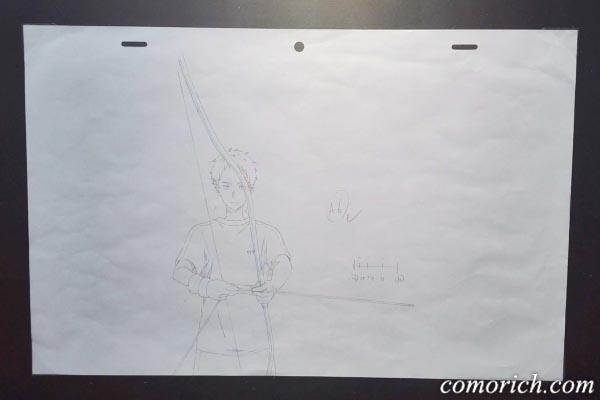 「ツルネ ―風舞高校弓道部―」の原画展示