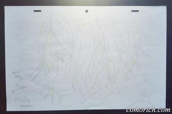 京アニブースのFree原画展示