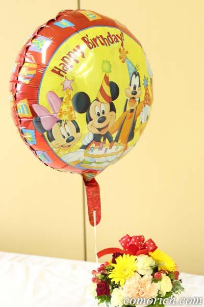 ディズニーのフラワーギフト 「ぷわぷわバルーン~Happy Birthday ミッキー&フレンズ~」【イイハナ・ドットコム】