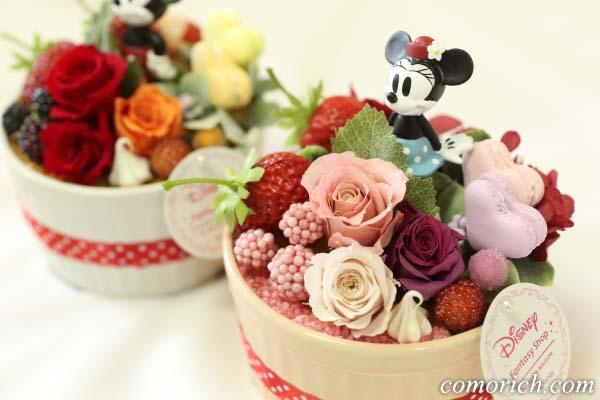 ディズニーのフラワーギフト「ハピネスcake~ミニー~」【イイハナ・ドットコム】