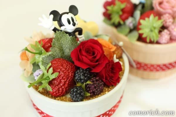ディズニーのフラワーギフト「ハピネスcake~ミッキー~」【イイハナ・ドットコム】