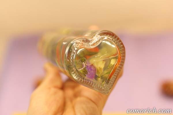 日比谷花壇のハロウィンハーバリウム
