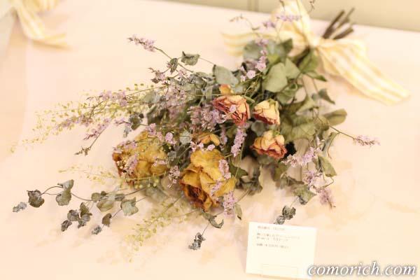 【日比谷花壇】飾って楽しむ フレッシュスワッグ「ローズ」