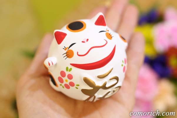 招き猫がかわいいアレンジメント「福花招き」
