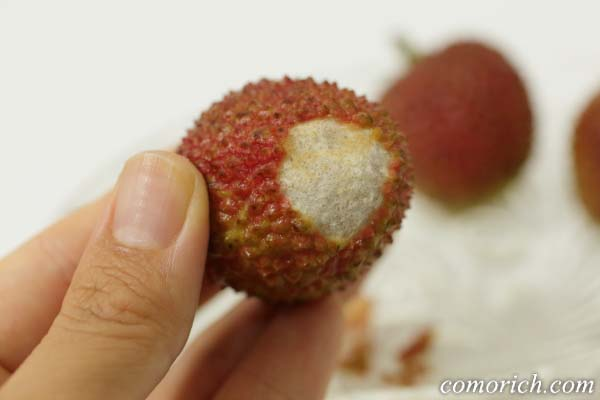 ライチ好きが教える生ライチの食べ方・むき方(写真付き)