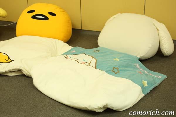 【ベルメゾンネット】サンリオキャラクターズのうたた寝クッション