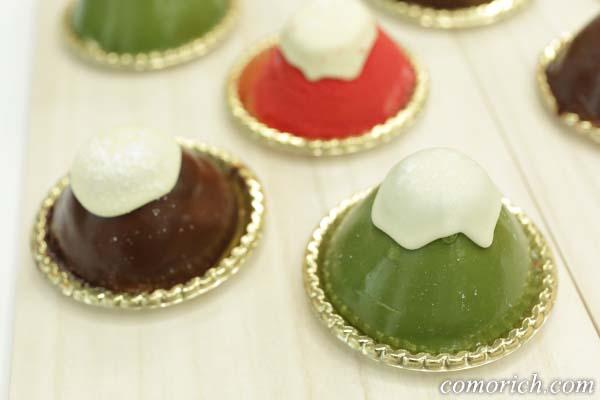 ケーキハウスショウタニ 3種の富士山ムース