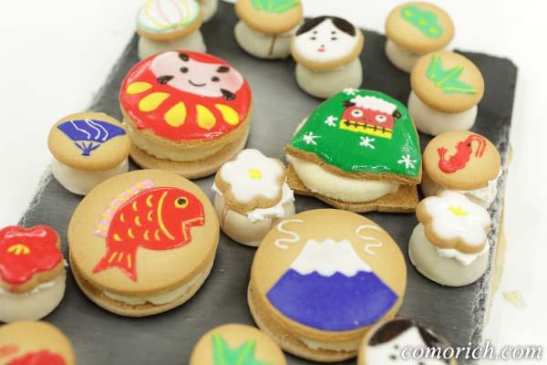 アンファン アイシングクッキーアイス「日本の初春」