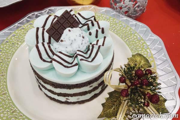 銀座コージーコーナー チョコミンティーケーキ 4号