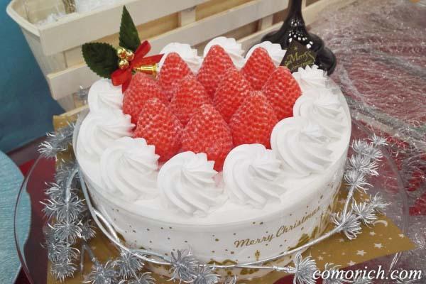 定番のいちごショートケーキ