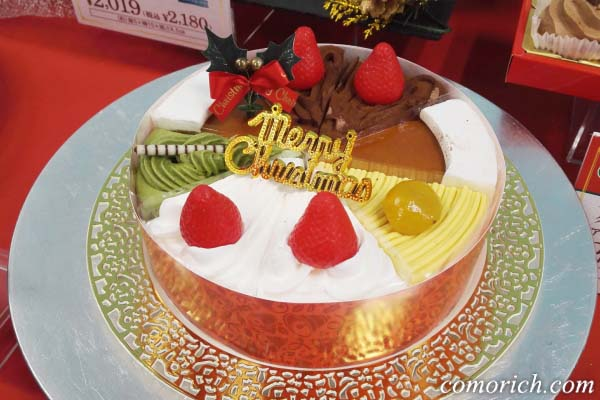 クリスマス ショートケーキ詰合せ