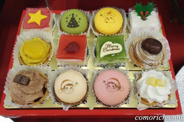 不二家 クリスマスプチケーキアソート