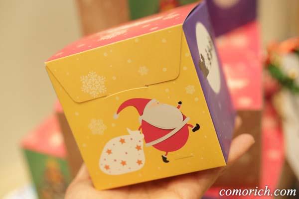 【クリスマス限定】サンタさんのロシアケーキボックス ホワイエ楽天市場店