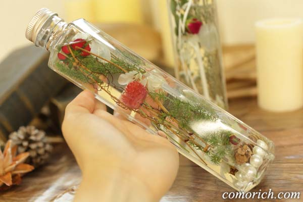 【日比谷花壇】 クリスマス限定のHealing Bottle