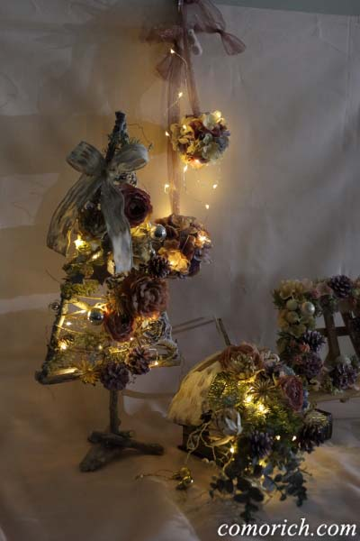 パステルピンクがかわいい、大人女子のための日比谷花壇のクリスマス