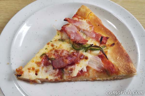 週末のちょっとぜいたくに割引中のピザハットのズーチー4を食べてみた