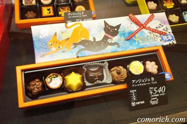 猫好き必見!ゴンチャロフ アンジュジュのにゃんこチョコレート