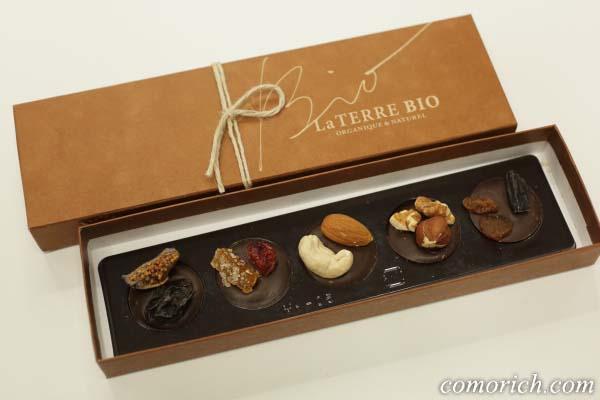 ラ・テール セゾンのフルーツ&ナッツチョコレート