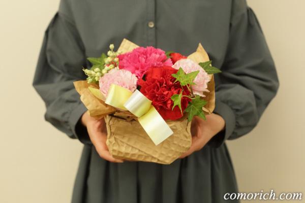 【日比谷花壇】母の日 アレンジメント「シェールママン ピンク」