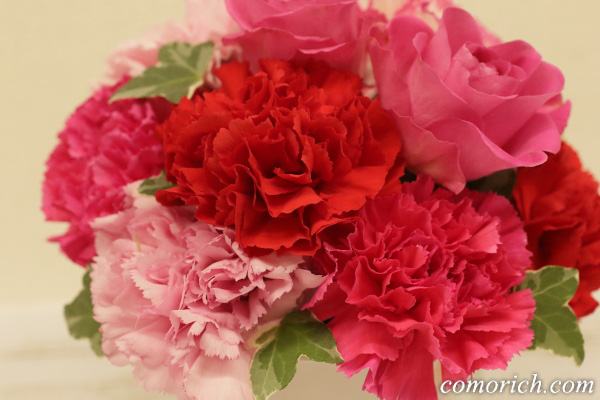 【日比谷花壇】母の日 アレンジメント「ロゼボヌール」