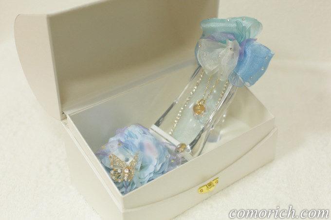 メリアルームの特別版【プロポーズ推奨・シンデレラのガラスの靴】プリンセス・ブルー