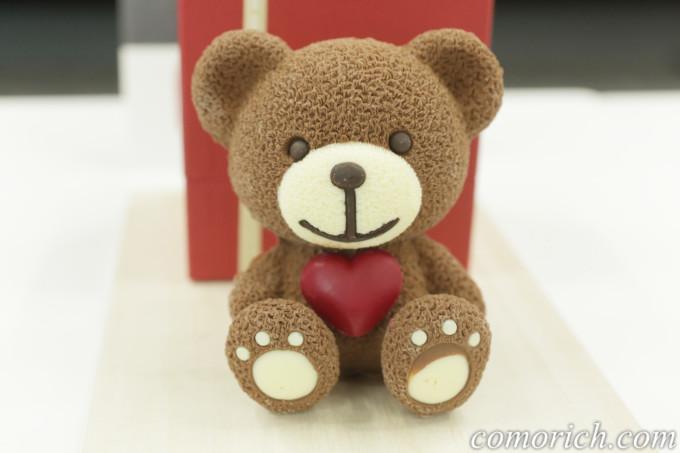 クマのぬいぐるみ型チョコレート、カカオサンパカの『ハートベア』