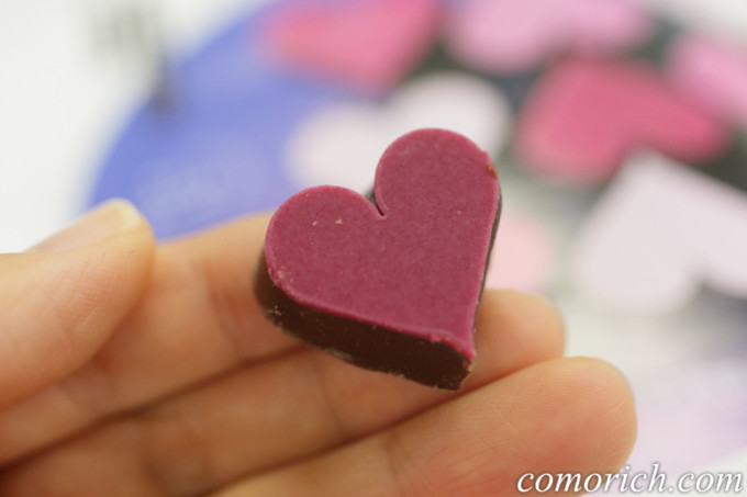 フェリシモ 幸福のチョコレート アニエス&ピエール ギモーヴハート
