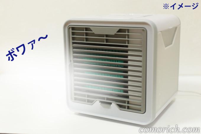 ここひえを早く涼しくする方法、フィルターを凍らせて使ってみた!