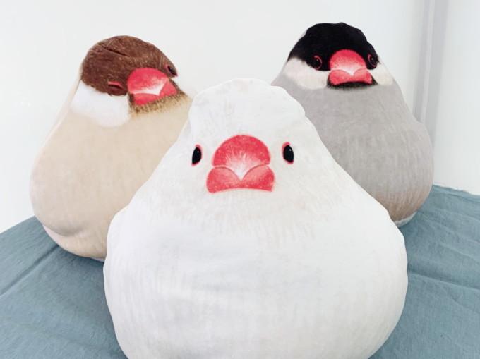 フェリシモ YOU+MORE!×小鳥部 もっちりかわいい おもちみたいな文鳥クッションの会